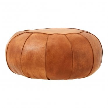 Enjoyable Leather Pouffes And Foot Stools Gmtry Best Dining Table And Chair Ideas Images Gmtryco