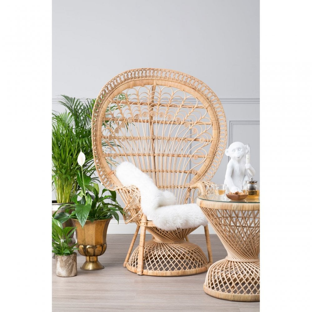 Amazing Clanbay Cheryl Natural Rattan Peacock Chair Spiritservingveterans Wood Chair Design Ideas Spiritservingveteransorg