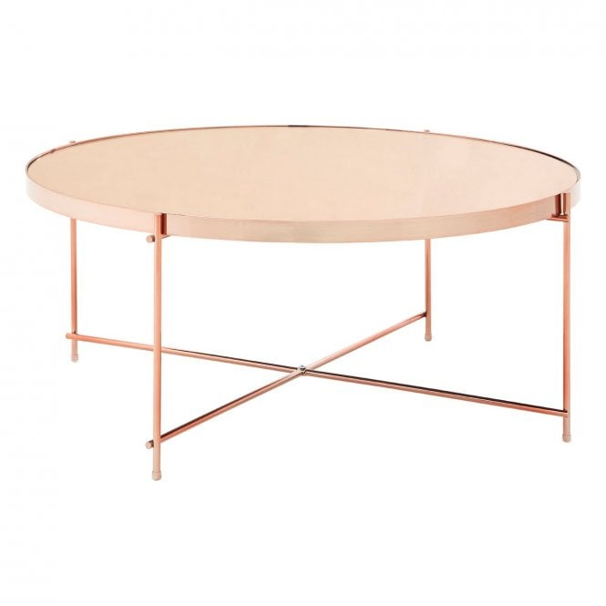 Pink Glass Coffee Table 3