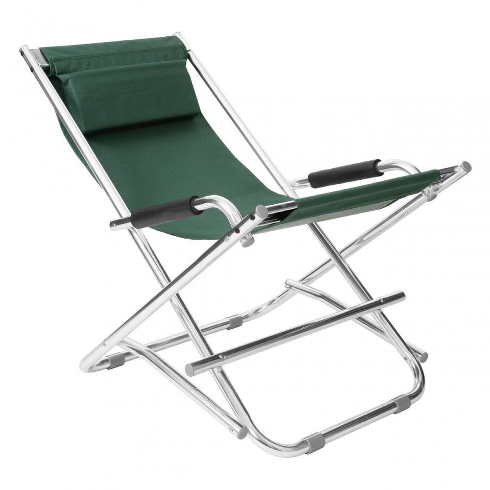 Remarkable Clanbay Folding Garden Chair Aluminium Green Ncnpc Chair Design For Home Ncnpcorg