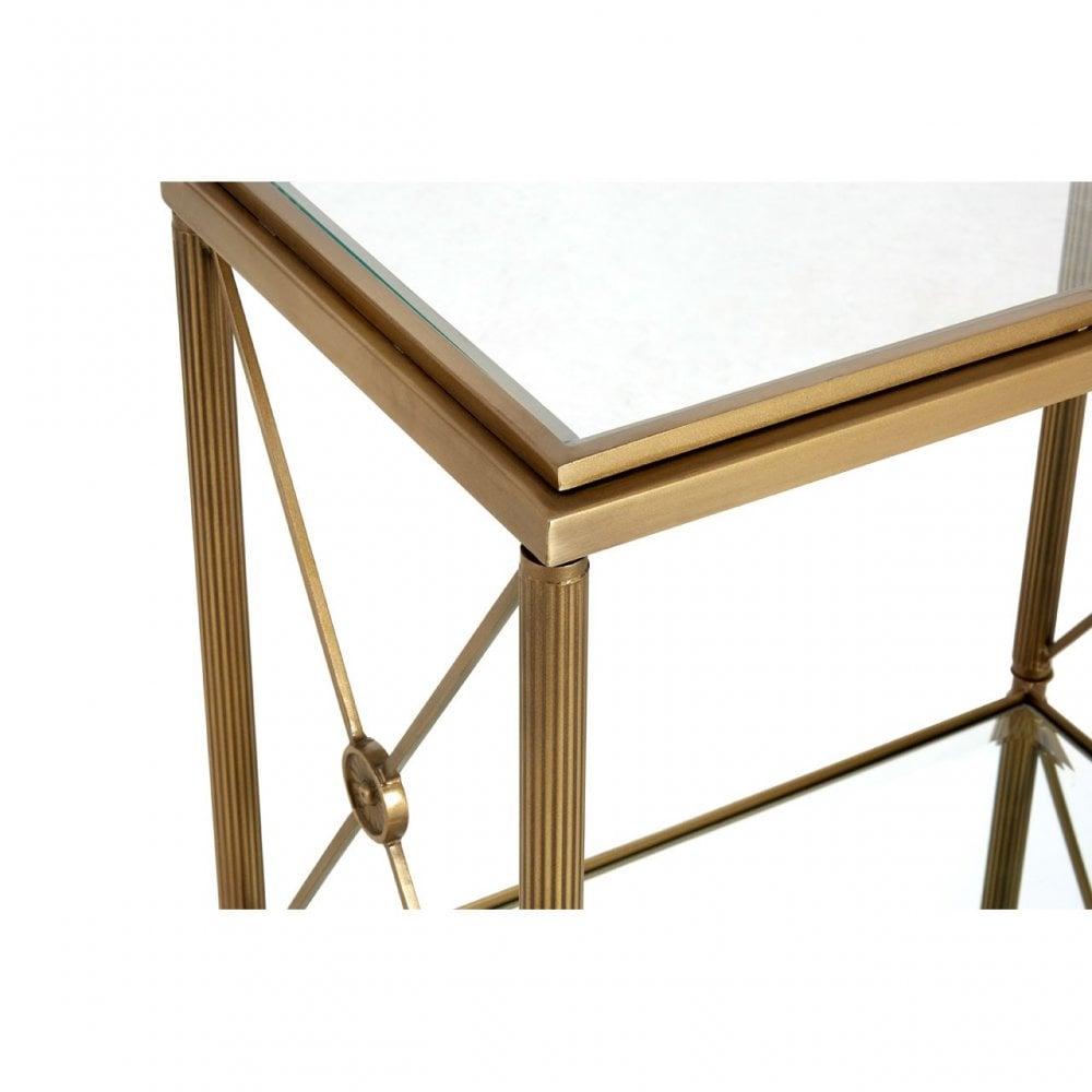 Hushie Rectangular Side Table