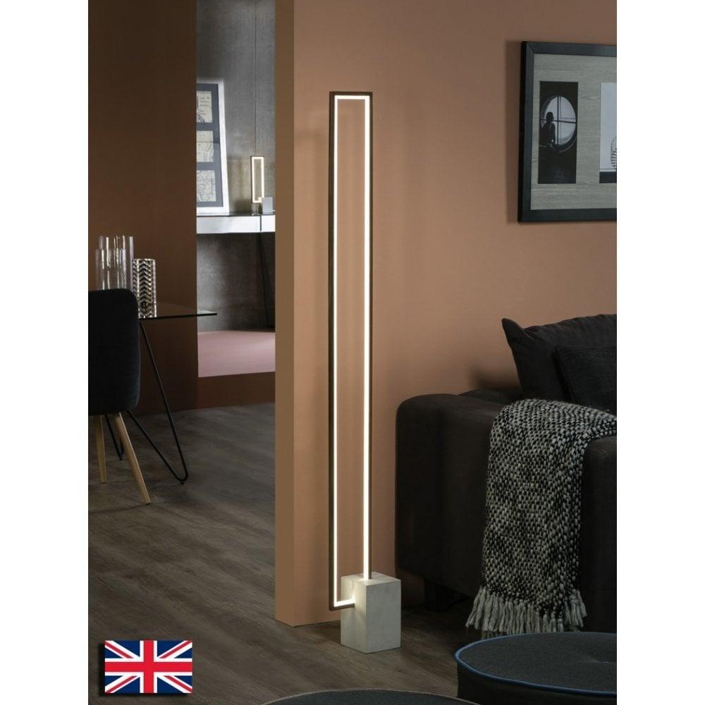 Limit Led Modern Concrete Floor Lamp