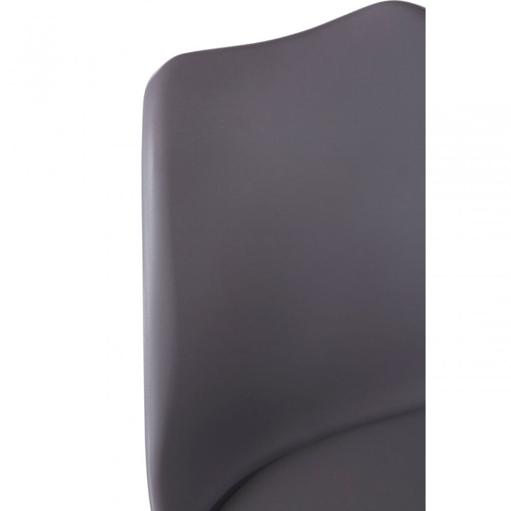 Super Clanbay Stockholm Grey Faux Leather Chair Beechwood Foam Grey Alphanode Cool Chair Designs And Ideas Alphanodeonline