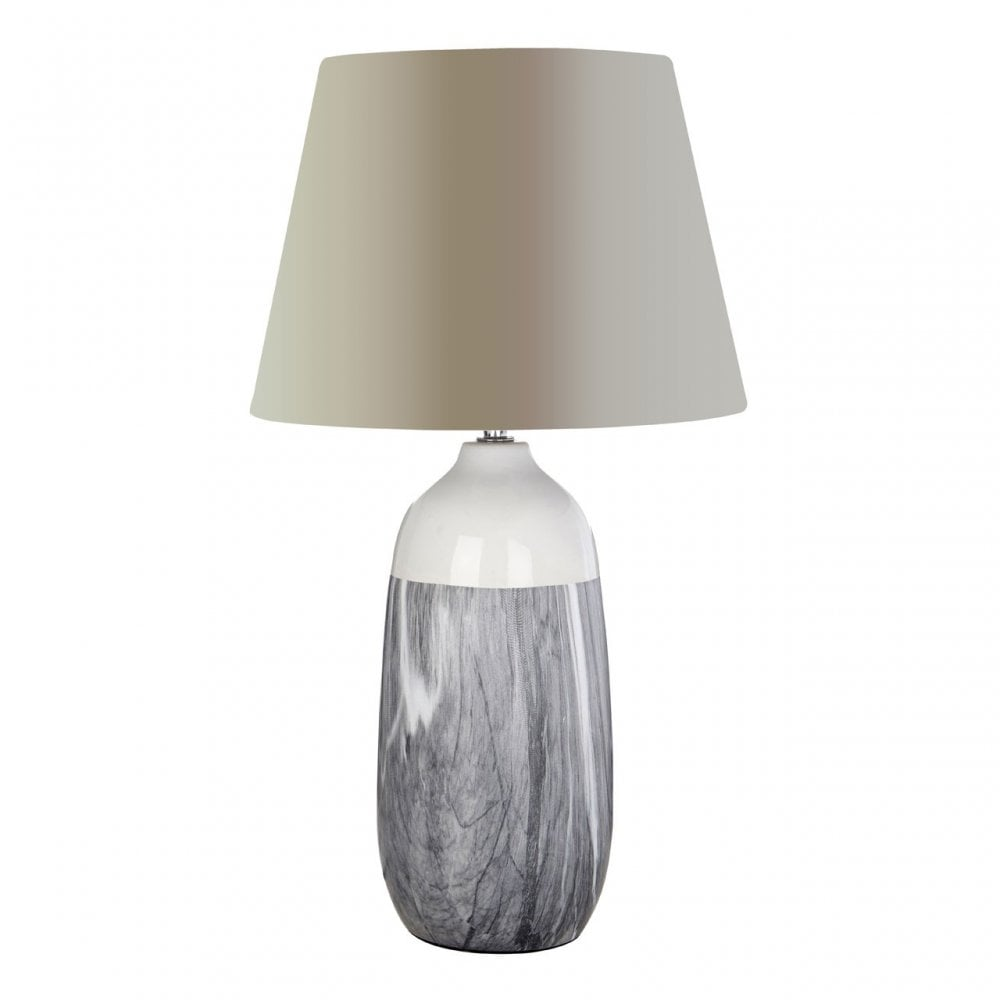 Welma Table Lamp Grey | Clanbay CB18831
