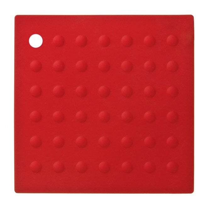 Zing Trivet Silicone Red Clanbay
